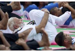 The sequel of International Yoga Day is being celebrated today, the 21 of June worldwide. 139 countries registered themselves to participate in the celebrations.Prime Minister Narendra Modi also participated in the celebrations held at Capitol Complex in Chandigarh, Punjab. At the venue around 30,000 people gathered to take steps towards health and well being. While addressing the people, Mr. Modi urged everyone to make Yoga a part of their lives. He also added that it was not a religious practice but this age old practice can help people get rid off their health and mental issues.- India Tv