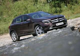 7.) Mercedes-Benz GLA: Flaunting an attractive design, the GLA is a proven head-turner. As for performance, petrolheads would give anything to sit behind the wheel of the 45 AMG avatar of the GLA that churns out an incredible 360PS of power.