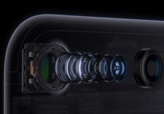 The 12-megapixel camera includes optical image stabilization on both iPhone 7 and iPhone 7 Plus, and a larger ƒ/1.8 aperture and 6-element lens enable brighter, more detailed photos and videos.