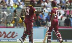 Evin Lewis thrashed Indian bowlers - India Tv