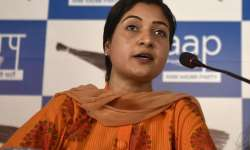 File pic of AAP MLA Alka Lamba- India Tv