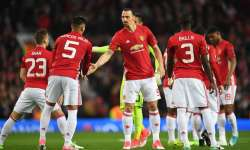 Zlatan Ibrahimovic and Marcos Rojo of Manchester United- India Tv