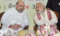 PM Modi with Amit Shah