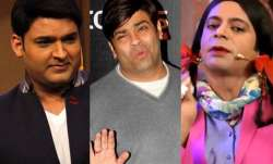 Kapil Sharma, Sunil Grover and Kiku Sharda