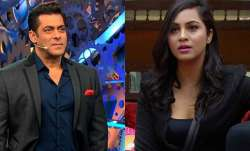 The recent one to face Salman Khan's wrath is Arshi Khan.