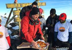 Highest altitude pizza delivery on land