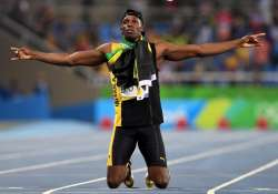Greatest sprinter of all the time Usain Bolt