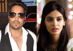 Mika Singh and Diana Penty