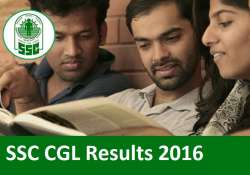 SSC CGL Results 2016