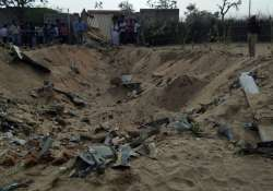 IAF's Sukhoi aircraft crashes in Rajasthan's Barmer