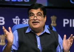 File pic of Union Minister Nitin Gadkari- India Tv