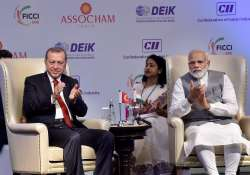 Erdogan makes a pitch for India-Turkey FTA at a Business