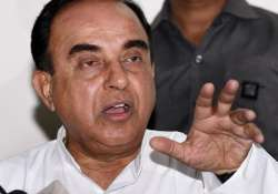 File pic of BJP leader Subramanian Swamy - India Tv
