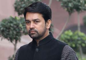 Anurag Thakur- India Tv