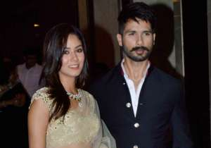 How Shahid is taking care of newly born daughter and wife- India Tv