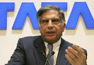 File photo - Ratan Tata speaks at an event in Mumbai- India Tv