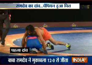 Baba Ramdev - India Tv