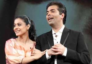 Karan and Kajol avoided each other at an event- India Tv