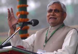 File pic of Bihar CM Nitish Kumar - India Tv
