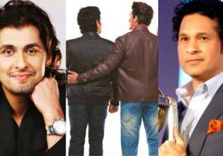 Sachin Tendulkar and Sonu Nigam - India TV