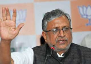 Sushil Kumar Modi - India TV