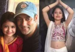 adorable video munni aka harshaali dances to salman s prem