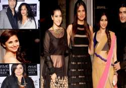a star studded opening to the lakme fashion week view pics