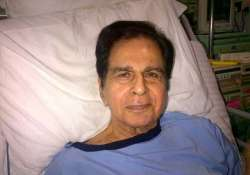 dilip kumar will be discharged thursday