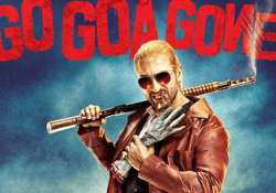 first look of go goa gone out saif colours his hair to play