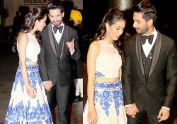 shahid mira reception the couple gets cosy at the party see