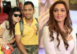 revealed actress who will play ms dhoni s wife on screen