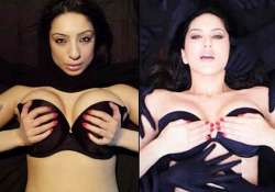 sunny leone in trouble faces rage for copying porn star