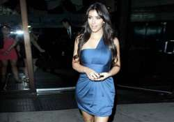 kim kardashian celebrates national cleavage day in daring