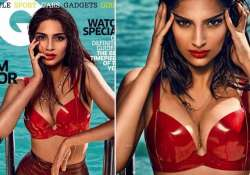 sonam kapoor sizzles on the cover of gq magazine