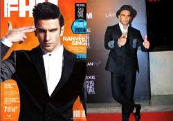 ranveer singh looks stylishly suave as fhm first cover boy