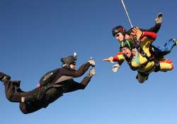 now skydive from 10 000 feet in maharashtra s baramati