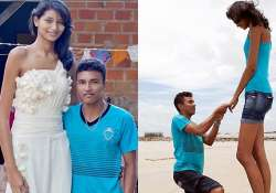 world s cutest love story sees its blissful start with a