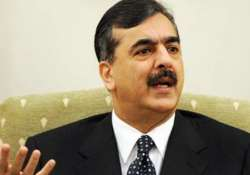 gilani skips son s wedding party for emergency meeting