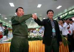 myanmar government ethnic groups agree on 4th draft