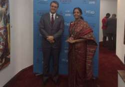 doha development round in jeopardy says nirmala sitharaman
