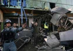at least two killed 7 injured in suicide blast in kabul