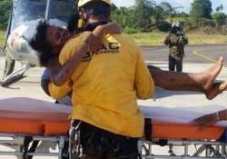 mother and baby rescued four days after colombia plane crash- India Tv