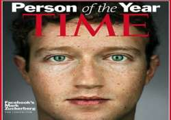 facebook founder zuckerberg is time person of the year