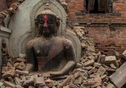 monuments partially damaged by nepal earthquake
