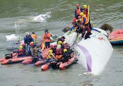 12 dead after taiwanese plane with 58 passengers crashes in