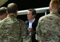 britain s david cameron on surprise visit to afghanistan