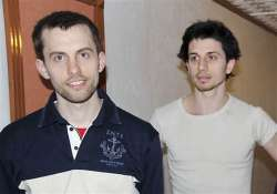 iran releases 2 americans jailed as spies