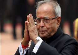 advani crediting me on ordinance is speculation pranab