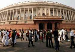 brief parliament session soon