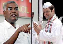 does rahul know what he is talking about raja